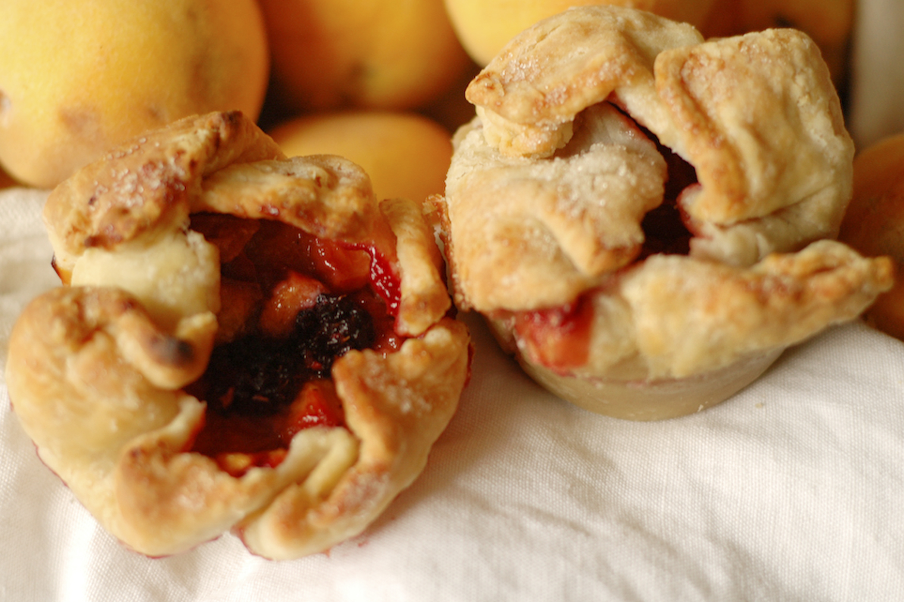 Delicious, sweet and savory mini-pies